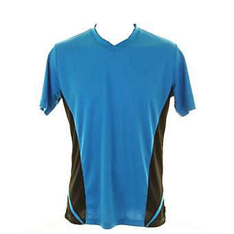 GameGear Mens Cooltex® Team Top V-neck Short Sleeve