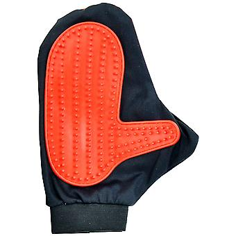 Ica Adjustable Glove-Mitten 16,5X23 Cm (Dogs , Grooming & Wellbeing , Brushes & Combs)
