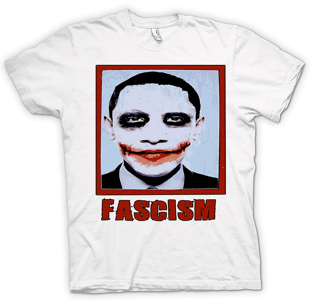 Mens t-skjorte-Obama fascismen