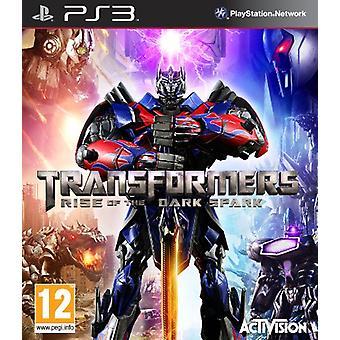 Transformatorer ökningen av den mörka gnistan (PS3)