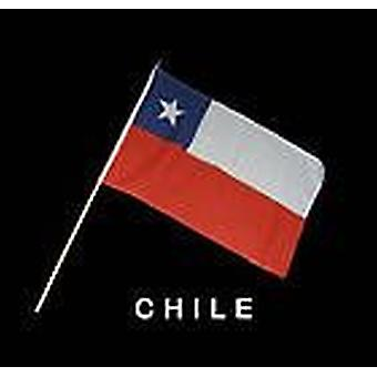 Chile Hand Held Flag