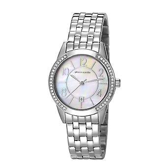 Pierre Cardin Damen Uhr Armbanduhr TROCA silber PC106582F14
