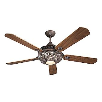 Design Ceiling Fan Santa Pepeo rust brown without control