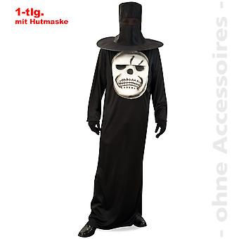 Skull horror headless men costume sense man death Halloween costume