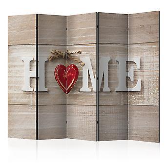 Værelse adskillelsesstolpen - rumdeler - hjem og røde hjerte