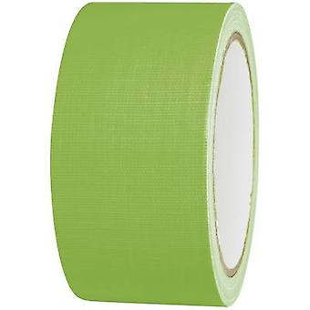 Cloth tape 80FL5025GC Neon green (L x W) 25 m x 50 mm TOOLCRAFT
