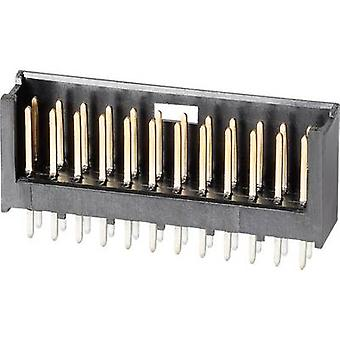 TE Connectivity 280509-2 Pin strip (standard) AMPMODU MOD II Total number of pins 18 Contact spacing: 2.54 mm 1 pc(s)