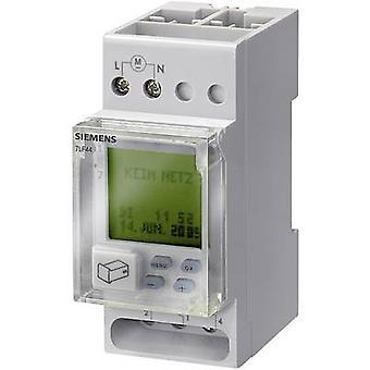 Siemens 7LF4522-0 DIN rail montaje contador de tiempo digital 230 V AC 16 A/250 V