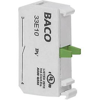 Contacter 1 fabricant momentanée 600 V BACO 33E10 1 PC (s)