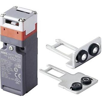 Idec HS5D-03ZRNM-SET Safety button 300 V AC 10 A Steel lever (straight), Steel lever (curved) momentary IP67 1 Set