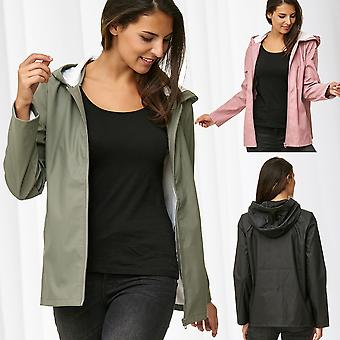 JDY Ladies Rain Jacket Raincoat Waterproof Jacqueline de Yong Only Rain Coat