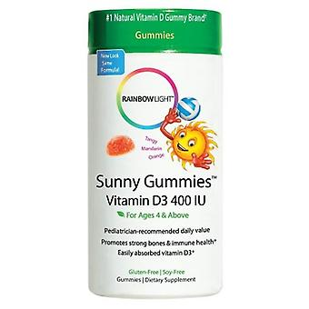 Rainbow Light Sunny Gummies Vitamin D3 400 IU 60 ct