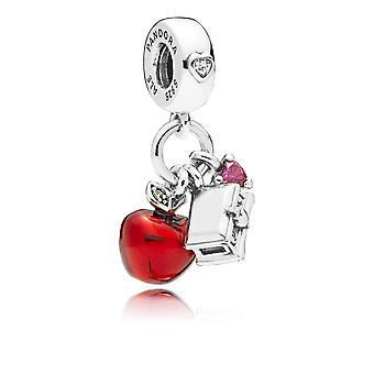 PANDORA Disney Snow Whites Apple & Heart Dangle Charm - 797486CZRMX