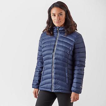 New Peter Storm Women's Frost Down Long Sleeve Full Zip Jacket Navy