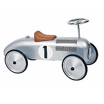 Retro-Schleife Auto Silber