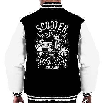 Giacca Varsity retrò 1950 Scooter Garage uomo