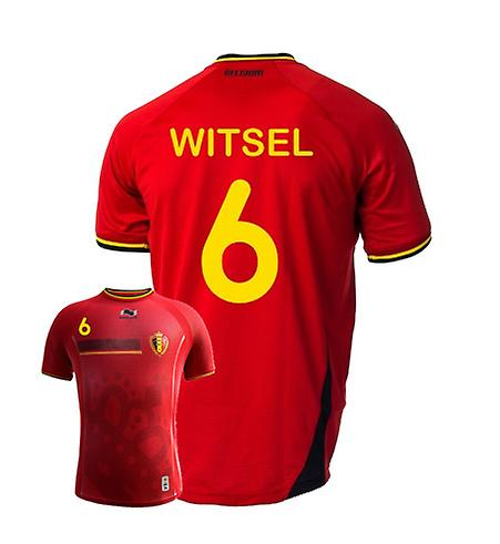 2014-15 Belgium World Cup Home Shirt (Witsel 6) - Kids