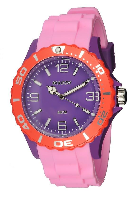 Waooh - Watch MC42 Tricolore purple & red