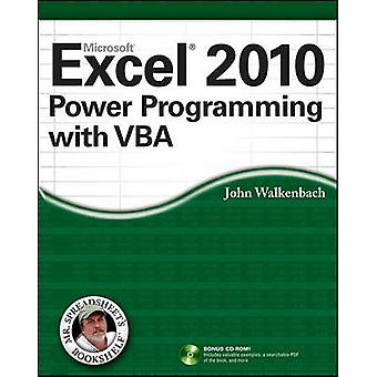 Excel 2010 Power Programming with VBA by John Walkenbach - 9780470475