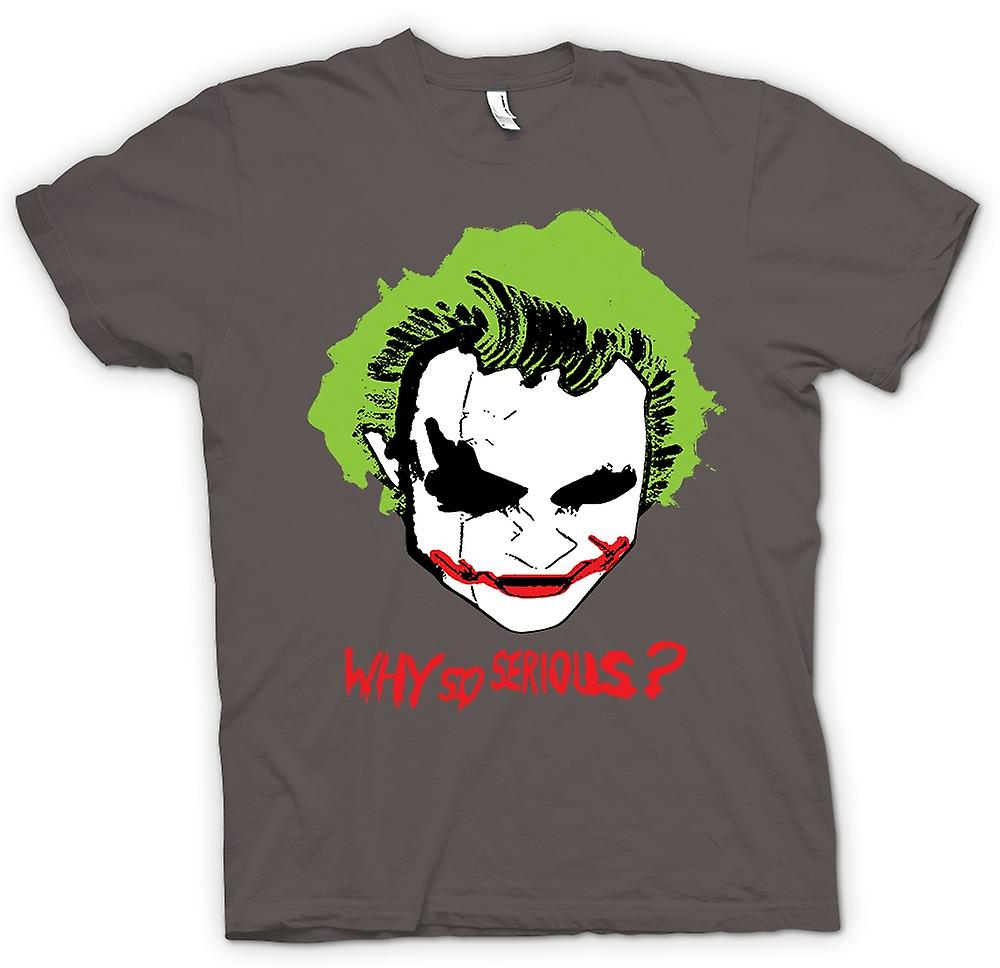 Womens T-shirt - Batman Why So Serious