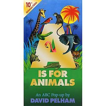 A is voor dieren: 10e Anniversay editie (Pop Up)