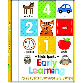 Early Learning - 6 Colourful First Word Books (Early Learning Board Book Sets)