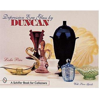 DEPRESJA ERA szkła przez DUNCAN (Schiffer książki dla kolekcjonerów)