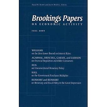 Brookings Papers on Economic Activity : automne 2009