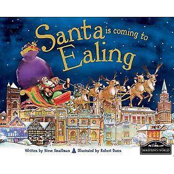 Santa arrive à Ealing