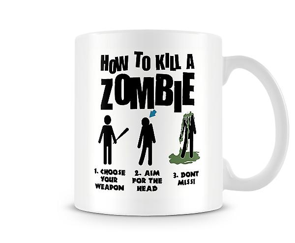 How To Kill A Zombie Mug