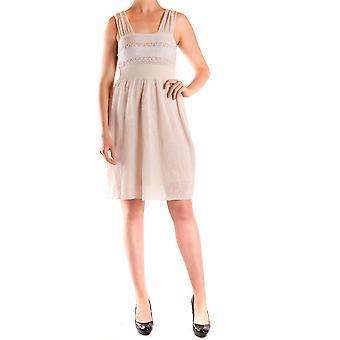 Liu Jo Beige Linen Dress
