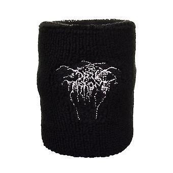 Darkthrone Logo geborduurd zweetband pols