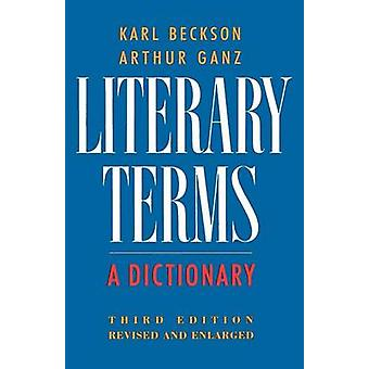 Literary Terms by Karl Beckson - 9780374521776 Book