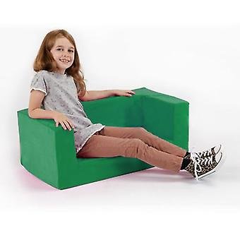 Kinderen Lime comfy schuim mini sofa