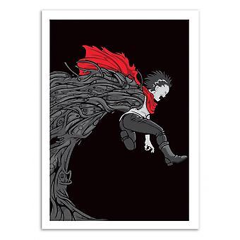 Konst-affisch-Akira-Samuel Ho 50 x 70 cm