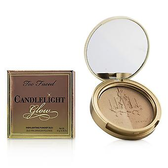 Too Faced Candlelight Glow Highlighting Powder Duo - # Warm Glow 10g/0.35oz