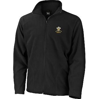 10th Royal Hussars Veteran - Licensed British Army Embroidered Lightweight Microfleece Jacket