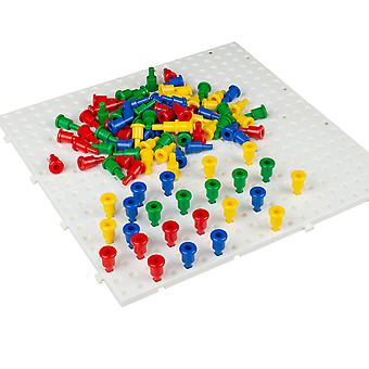 Large Peg Board With 100 Pegs Pk5