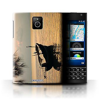 STUFF4 Case/Cover for Blackberry Passport/Fishing Boat/Thailand Scenery